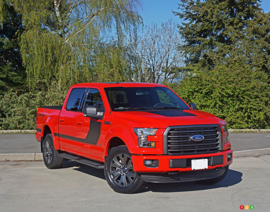 2016 Ford F 150 Xlt Supercrew 4x4 In Special Edition Guise Car Series Reviews Auto123