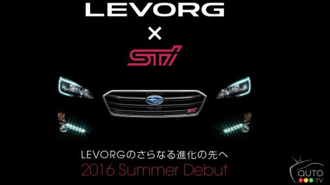 Subaru announces Levorg STI in Japan