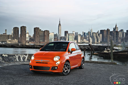 Nearly 8,000 Fiat 500 cars from 2012-2016 recalled in Canada