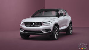 Volvo unveils new 40 series concept cars