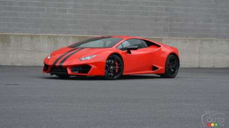 2016 Lamborghini Huracán LP 580-2 Review