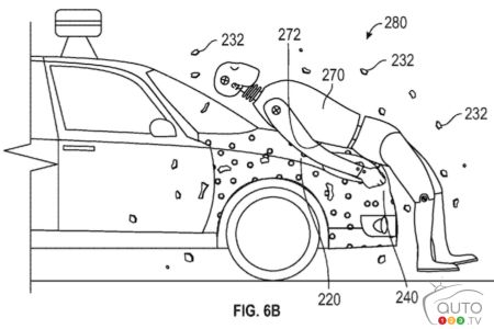 "Cars with ""human flypaper"" could help reduce pedestrian injuries"