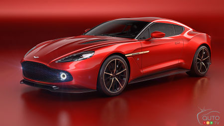 New Aston Martin Vanquish Zagato makes world debut