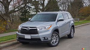 2016 Toyota Highlander XLE AWD Review
