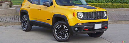 Jeep Renegade Trailhawk 2016 : essai routier