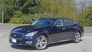 2016 Infiniti Q70L 3.7 AWD Review