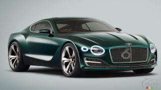 Bentley EXP 10 Speed 6 concept looks like a sure thing now