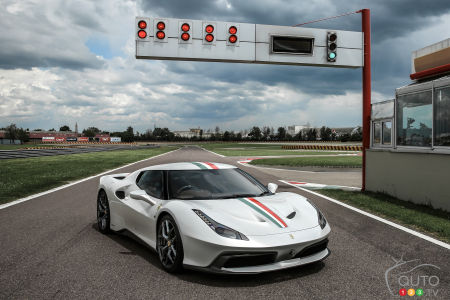 Ferrari 458 MM Speciale commissioned as one-off model