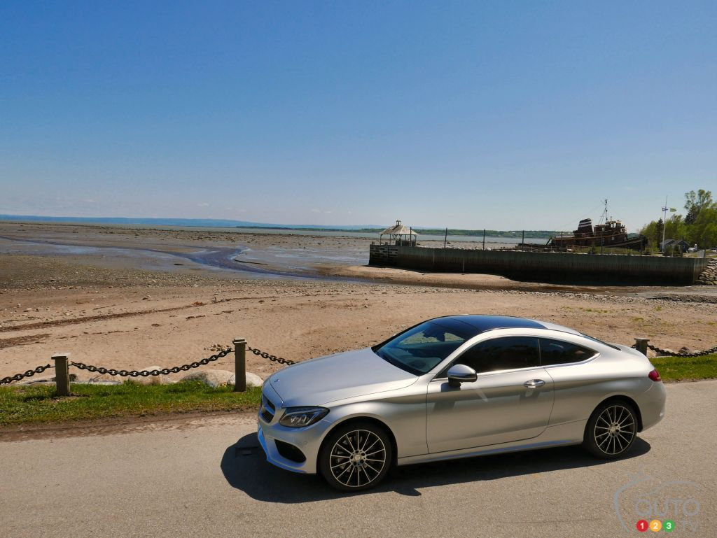 2017 Mercedes-Benz C-Class Coupe First Drive