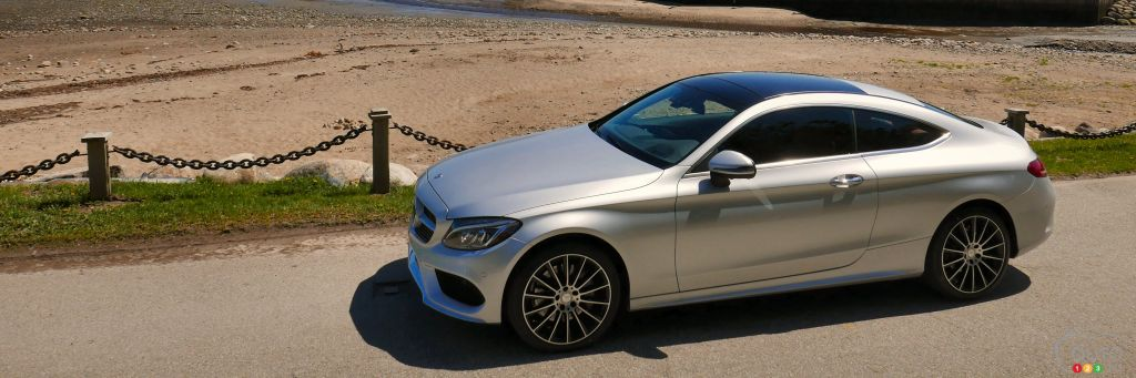 2017 mercedes benz c class coupe first drive car news. Black Bedroom Furniture Sets. Home Design Ideas