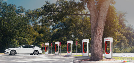 Tesla Model 3 charging via Superchargers won't be free