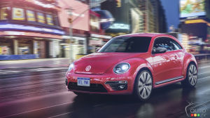 Volkswagen #PinkBeetle is the Twitter fan's car