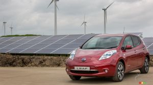 Nissan's largest euro plant now running on solar and wind power