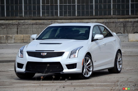 2016 Cadillac Ats V Poses Real Threat To Bmw M3 Car News Auto123