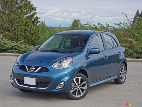 2016 Nissan Micra SR Review