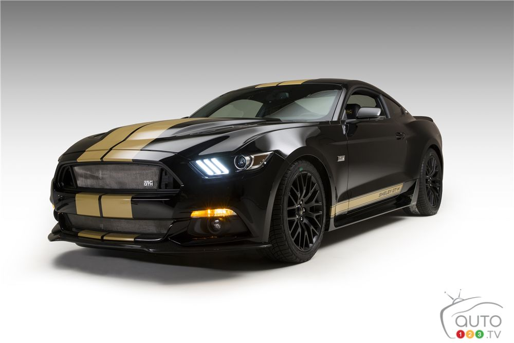 2016 Ford Shelby GT-H prototype to be auctioned