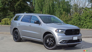 2016 Dodge Durango SXT AWD Blacktop Review