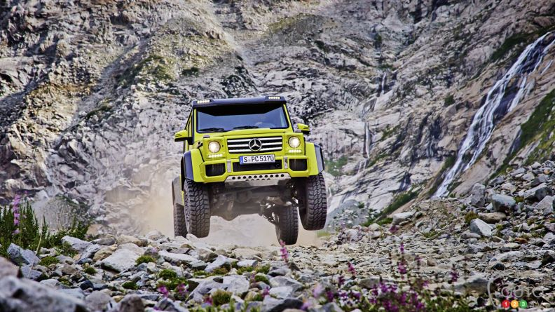 "Mercedes-Benz G550 4x4 ""square"" on sale in the U.S. next year"