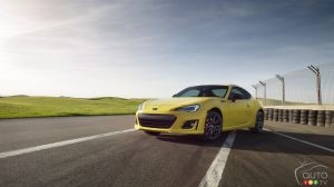 2017 Subaru BRZ Series.Yellow unveiled as limited-edition model