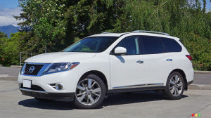 2016 Nissan Pathfinder Platinum Review