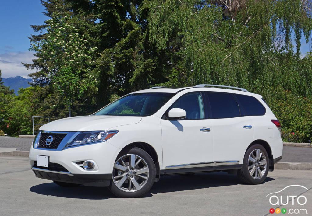 Nissan pathfinder reviews 2016