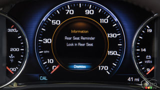 2017 GMC Acadia introduces Rear Seat Reminder