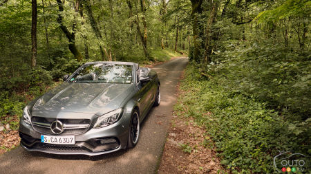 2017 Mercedes-Benz C-Class Cabriolet First Drive