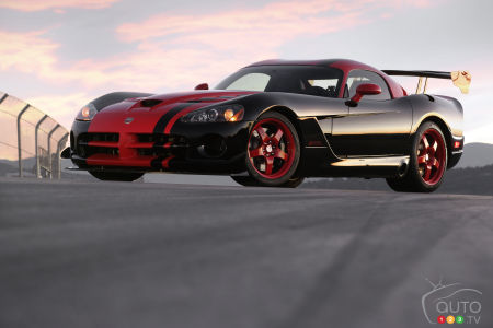 Dodge Viper bowing out after 25 years with 5 limited-edition models