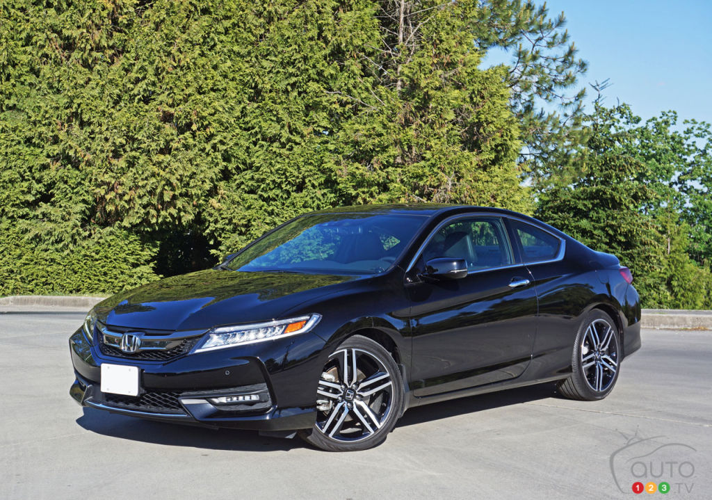 2016 Honda Accord Coupe Touring V6 Review