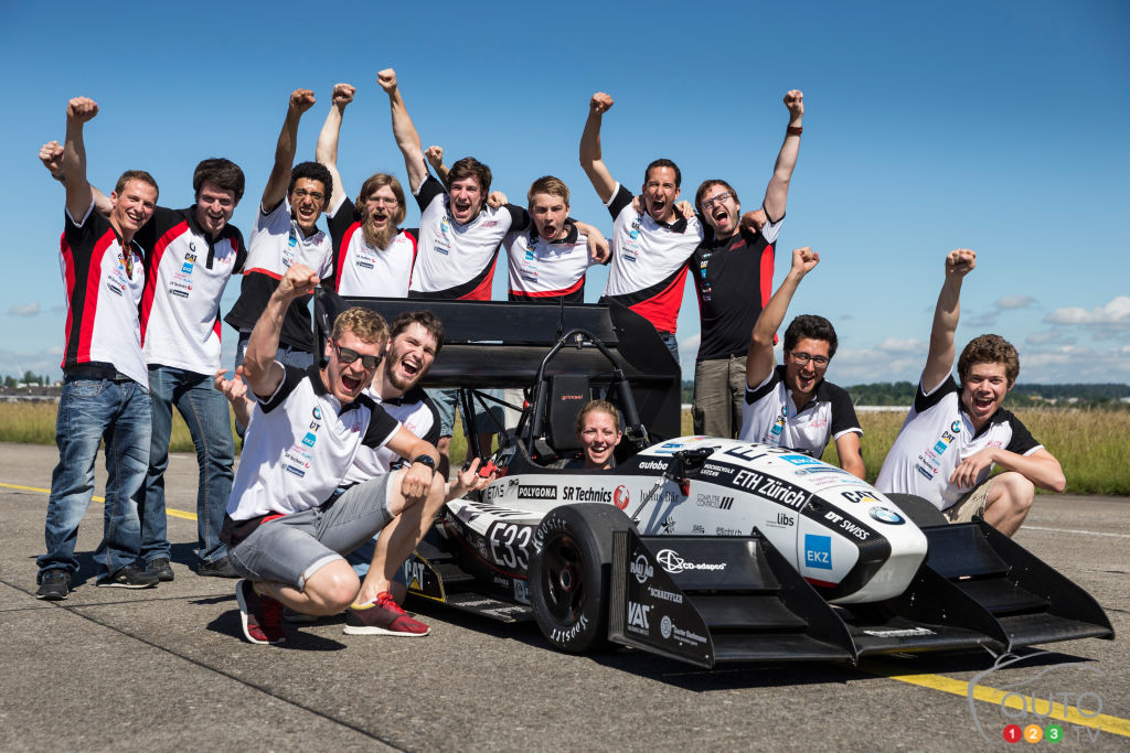 Electric car in Switzerland goes 0-100 in just 1.513 second!