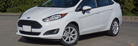 2016 Ford Fiesta Sedan SE Review