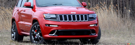 Jeep Grand Cherokee SRT 2016 : essai routier