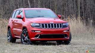 2016 Jeep Grand Cherokee SRT Review