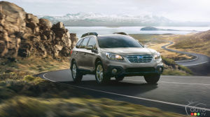 Subaru Outback refreshed and updated for 2017