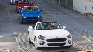 2017 Fiat 124 Spider lands in North America