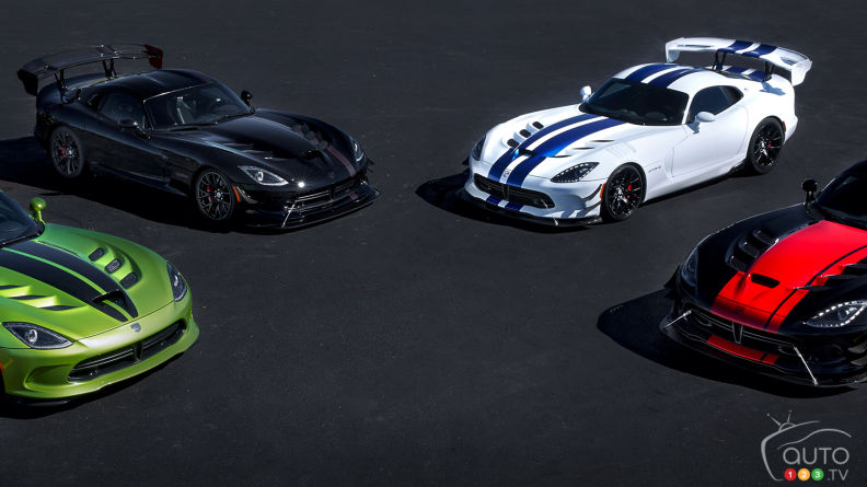 Dodge Viper 25th anniversary models already sold out
