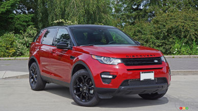 2016 Land Rover Discovery Sport HSE Review