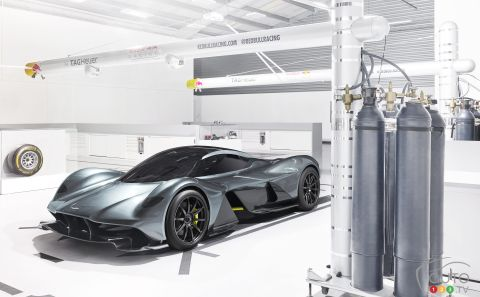 Aston Martin, Red Bull Racing unveil AM-RB 001 hypercar