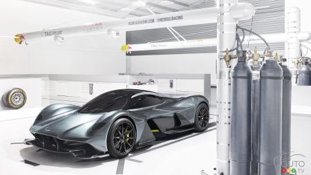 La AM-RB 001, la supervoiture signée Aston Martin et Red Bull Racing
