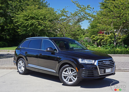 Audi Q TFSI Quattro Raises The Luxury SUV Bar Car - Audi q7 reviews