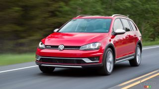 2017 Volkswagen Golf Alltrack gets 5-star crash rating
