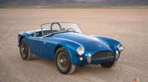 1962 Shelby Cobra expected to set auction record