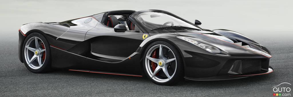 ferrari laferrari spider revealed ahead of paris auto show car news auto123. Black Bedroom Furniture Sets. Home Design Ideas