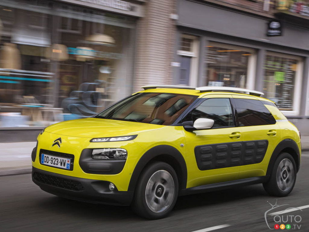 The Citroën C4 Cactus