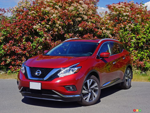 2016 Nissan Murano Platinum Review