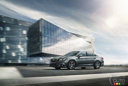 2017 Subaru Legacy coming to showrooms this summer