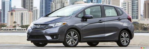 2016 Honda Fit EX-L Navi CVT Review