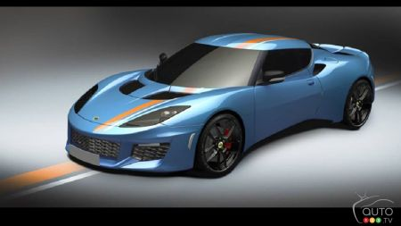 Exclusive Lotus Evora designed by fans