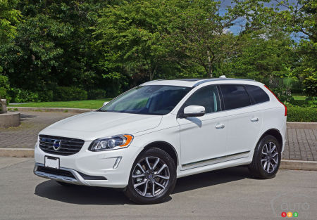 2016 volvo xc60 t5 awd se premier road test car reviews auto123. Black Bedroom Furniture Sets. Home Design Ideas
