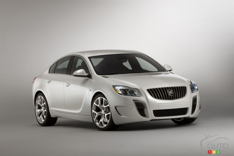 2011 Buick Regal recalled due to possible electrical short